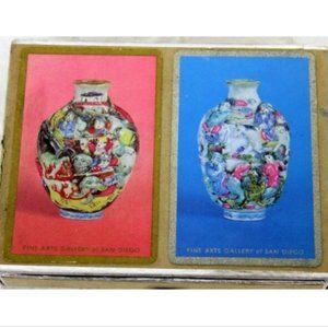 2 Decks Playing Cards Congress Fine Arts Gallery S
